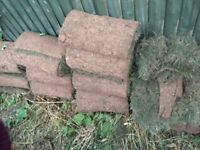 Bricks, 2-day old turf, garden waste and new patio slabs going for free - collect only ASAP