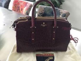 Aspinal brook Bordeaux Handbag