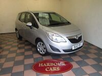 2012/12 Vauxhall Meriva 1.4i 16v Exclusiv, 1 Previous Owner, 28,000 Miles