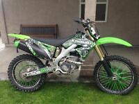 2011 KX250F Fuel Injected