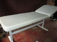 Massage/waxing bed for sale
