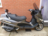 Piaggio Xevo 400 2009 model, two keys, Mot 11/7/18, one owner, 18,750 miles, vgc, only £1795