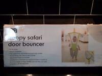 Mother care happy safari door bouncer
