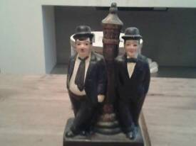 Laurel and hardy collectable figure