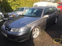 SAAB 9-5 AERO HOT ESTATE. 2002. 73k. Mint.