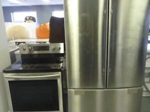 118- NEUF - NEW  Réfrigérateur   3 Portes Frigo  SAMSUNG 3 Doors Fridge  NEUF - NEW