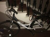 brand new ladys step thow bike for MOBILITY SCOOTER or selling bike for £150