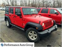 2009 Jeep WRANGLER UNLIMITED X Automatic with Air Conditioning!