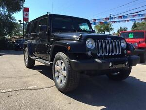 2016 Jeep WRANGLER UNLIMITED SAHARA UNLIMITED 4X4 AUTOMATIC, HEA