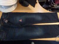 Men's industrialize jeans