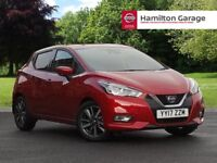 Nissan Micra 0.9 IG-T N-Connecta 5dr (passion red) 2017
