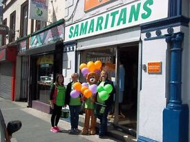 Volunteer Shop Assistant wanted for Craigavon Samaritans Charity Shop in Lurgan
