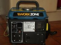 Generator, portable, 800W, 230V, 2HP 2-stroke engine