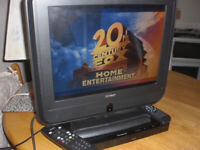 LITTL TELLY with DVD player, £20