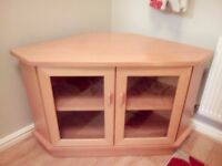Solid Beech wood Tv cabinet
