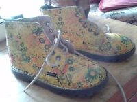 Two pairs of kids doc martins, excellent condition