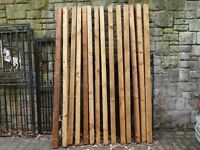 FENCE POSTS WOOD 3 X 3'' 8' HIGH