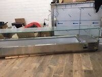 Brand new refrigerated counter top unit for sale.