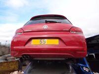 BREAKING --- Volkswagen Scirocco TDI 2L Diesel 140BHP -- REAR BUMPER ----- 2009