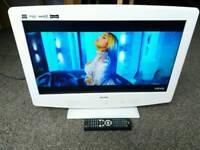 "22"" Bush HD ready Digital lcd Built-in DVD &freeview"