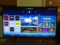 TOSHIBA 55inch ANDROID SMART FULL HD LED 3D TV,USB,WIFI,FREE DELIVERY IN CENTRAL GLASGOW