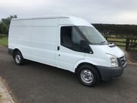 2011 FORD TRANSIT 300LWB H-ROOF PSV TO JULY 2019.