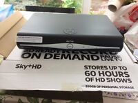 Sky+HD box with remote in excellent working order