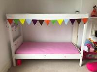 IKEA Kids bed with canopy - excellent condition!
