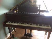 Baby Grand John Broadwood Piano