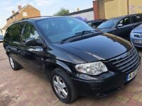 CHRYSLER GRAND VOYAGER 2.8 DIESEL EXECUTIVE 2007(57) AUTOMATIC STOW AND GO MINT NEW MOT