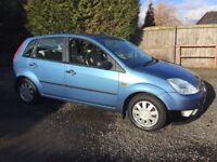 CHEAP CAR! 2003 Ford Fiesta ghia. Full 1 year mot!