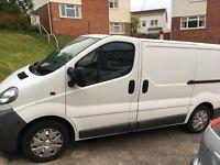Nice clean Vauxhall vivaro