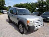2006'56 LAND ROVER DISCOVERY 3 TDV6 2.7 119K MILES-MANUAL-SPARES REPAIR-DRIVES