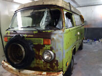 VW WESTFALIA 1978 ***RESTORATION PROJECT - NOVA REGISTERED*** VIEWING WELCOME