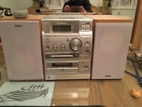 Sony tape and CD recorder