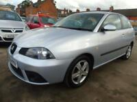 SEAT IBIZA 1.2 REFERENCE SPORT FULL SERVICE LONG MOT GOOD CONDITION DRIVES A1 (grey) 2008