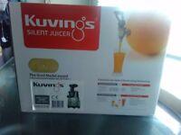Heavy duty kuvings silent juicer.
