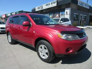2008 Mitsubishi Outlander LS - AWD - Navigation - Camera