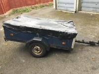 Trailer with cover - 6ft by 4ft