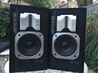 Pair of Jamo D110 speakers with Aiwa amp - fully working