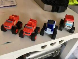 Blaze toy car characters