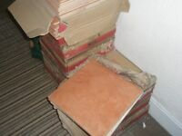 *Brand New* Ceramic (terracotta) Floor Tiles - boxed and ready to be laid!