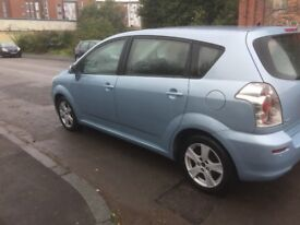 TOYOTA COROLLA VERSO 2006 FULL YEAR MOT EXCELLENT CONDITION