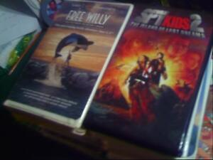 12 VHS MOVIES FOR CHILDREN