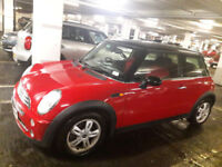 Red Mini Cooper, New MOT, 79k miles