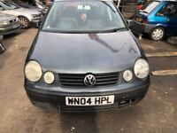 2004 Volkswagen Polo Twist Auto 5dr 1.4 Petrol Grey BREAKING FOR SPARES