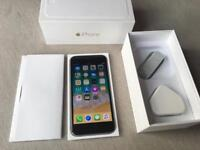 IPhone 6 factory unlocked to any network genuine Apple new charger