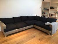 Bespoke large corner sofa