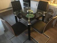 Italian Table and 4 chairs handmade