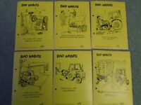 24 X 1960/70'S FARM BRITAIN SAFELY STICKERS